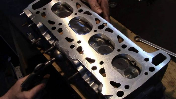 Шлифовка поверхности гбц без снятия клапанов